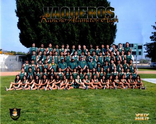 2017 Rancho Track & Field Team